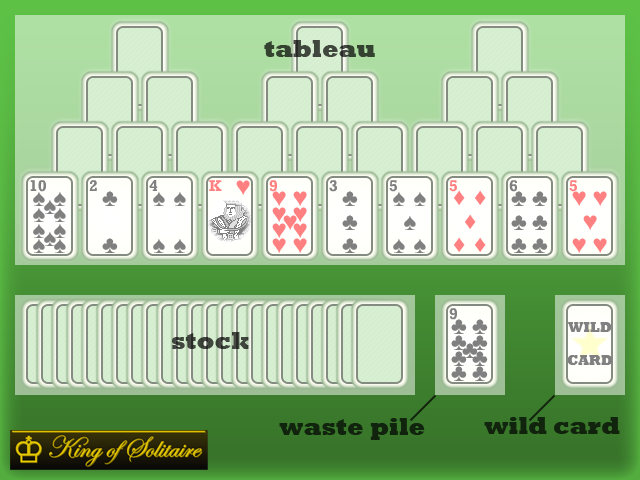 How to play tri peaks solitaire